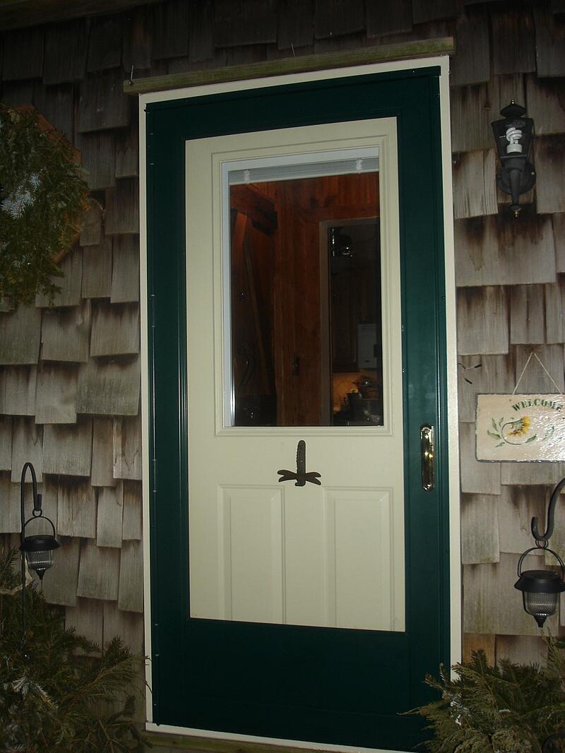Steel Entry Door Blinds Between Glass Door Ideas Themiraclez