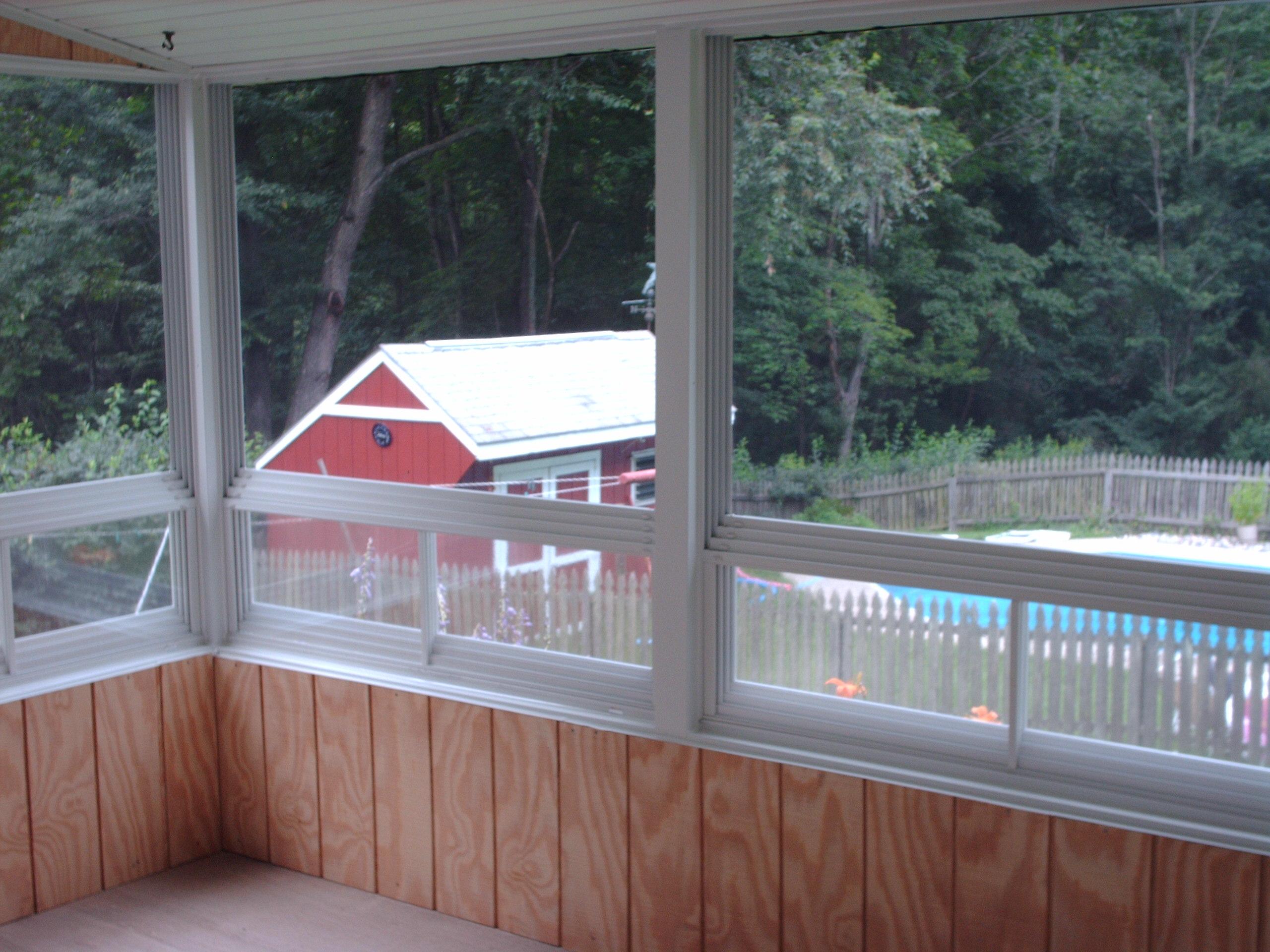 open panels for full breeze
