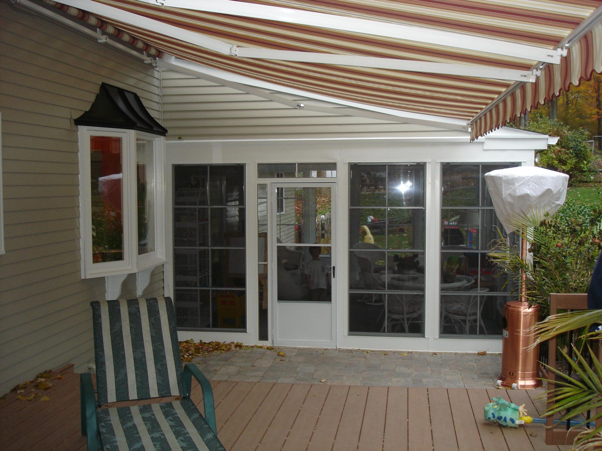 exterior with new EzeBreeze panels