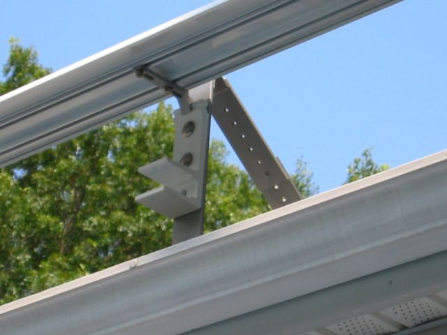 stainless steel awning bracket for roof mount