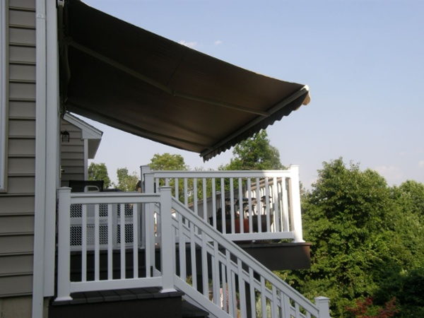 reclaim your deck with a motorized retractable awning