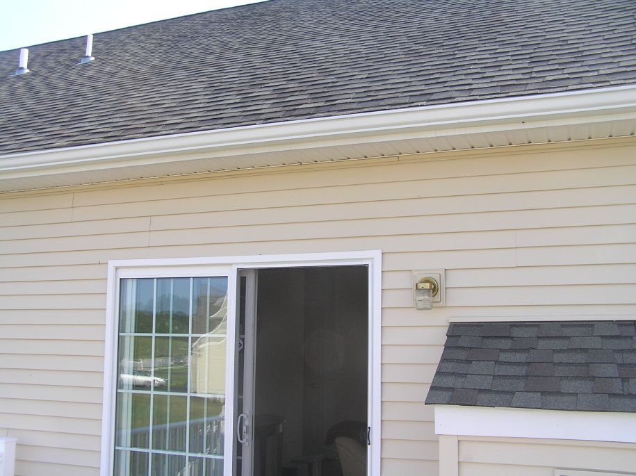 before installing motorized retractable awning